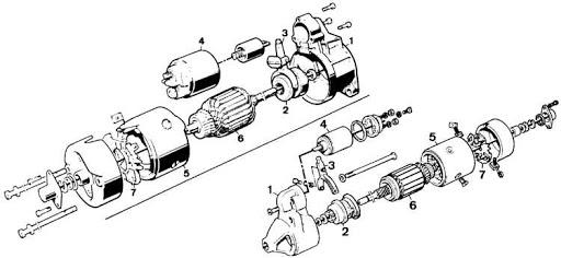 Prom.ua Стартер на Ford Sierra 1.6 i, Форд Сиерра 1.6 бензин
